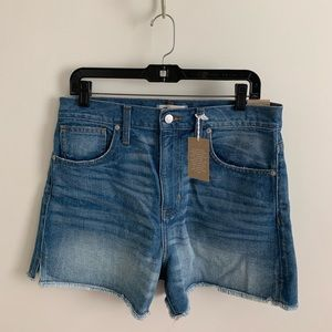 The Perfect Jean Shorts from Madewell